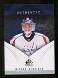 2009/10 Upper Deck SP Game Used #131 Michal Neuvirth RC /699