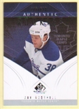 2009/10 Upper Deck SP Game Used #152 Jay Rosehill RC /699