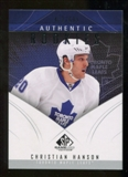 2009/10 Upper Deck SP Game Used #175 Christian Hanson RC /699