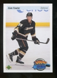 2010/11 Upper Deck 20th Anniversary Parallel #201 Cam Fowler YG