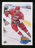 2010/11 Upper Deck 20th Anniversary Parallel #211 Jeff Skinner YG