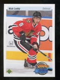 2010/11 Upper Deck 20th Anniversary Parallel #214 Nick Leddy YG