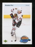 2010/11 Upper Deck 20th Anniversary Parallel #215 Brandon Pirri YG