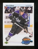 2010/11 Upper Deck 20th Anniversary Parallel #224 Kyle Clifford YG