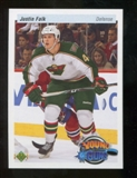 2010/11 Upper Deck 20th Anniversary Parallel #229 Justin Falk YG