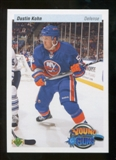 2010/11 Upper Deck 20th Anniversary Parallel #244 Dustin Kohn YG