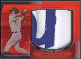 2011 Topps Pro Debut #JS Jerry Sands Materials Red Patch #3/5