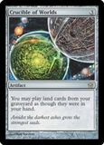 Magic the Gathering Fifth Dawn Single Crucible of Worlds - SLIGHT PLAY (SP)