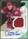 2010/11 Upper Deck SPx #182 Oliver Ekman-Larsson Jersey Autograph /799