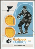 2010/11 Upper Deck SPx #206 Chris Pronger FF Jersey