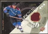2010/11 Upper Deck SPx Spectrum #27 Paul Stastny Jersey 11/25