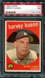 1959 Topps Baseball #70 Harvey Kuenn PSA 7 (NM) *7278