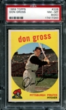 1959 Topps Baseball #228 Don Gross PSA 8 (NM-MT) (OC) *7293