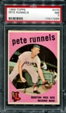 1959 Topps Baseball #370 Pete Runnels PSA 7 (NM) *7299