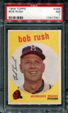 1959 Topps Baseball #396 Bob Rush PSA 7 (NM) *7301