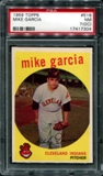 1959 Topps Baseball #516 Mike Garcia PSA 7 (NM) (OC) *7304