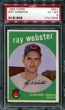 1959 Topps Baseball #531 Ray Webster PSA 6 (EX-MT) *7306