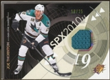 2010/11 Upper Deck SPx Spectrum #84 Joe Thornton Jersey 19/25