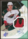 2010/11 Upper Deck SPx Spectrum #160 Maxim Noreau Patch 19/25
