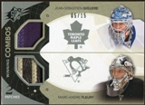 2010/11 Upper Deck SPx Winning Combos Patches #WCGF Marc-Andre Fleury/Jean-Sebastien Giguere 5/15