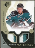 2010/11 Upper Deck SPx Winning Materials Patches #WMDH Dany Heatley 31/35