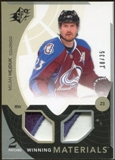 2010/11 Upper Deck SPx Winning Materials Patches #WMHE Milan Hejduk 18/35
