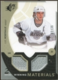 2010/11 Upper Deck SPx Winning Materials Patches #WMLR Luc Robitaille /35