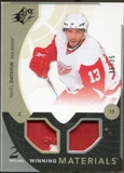 2010/11 Upper Deck SPx Winning Materials Patches #WMPD Pavel Datsyuk 35/35