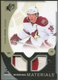 2010/11 Upper Deck SPx Winning Materials Patches #WMSD Shane Doan 15/35