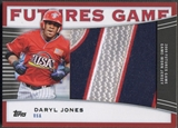 2010 Topps Pro Debut #DJO Daryl Jones Futures Game Patch #1/5