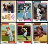 1974 Topps Baseball Complete Base & Traded Set (NM-MT)