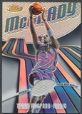 2003/04 Finest #111 Tracy McGrady Refractor Jersey #021/250