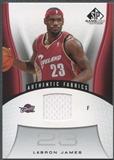 2006/07 SP Game Used #116 LeBron James Jersey