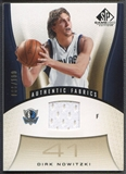 2006/07 SP Game Used #119 Dirk Nowitzki Gold Jersey #088/100