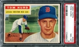 1956 Topps Baseball #256 Tom Hurd PSA 8 (NM-MT) *6477