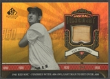2006 SP Legendary Cuts #TW2 Ted Williams Baseball Chronology Materials Bat