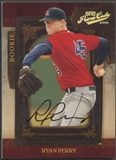 2008 Playoff Prime Cuts #112 Ryan Perry Rookie Auto #106/249