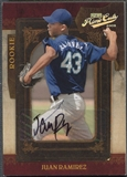 2008 Playoff Prime Cuts #125 Juan Ramirez Rookie Auto #086/249