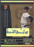 2005 Donruss Signature #15 Juan Marichal K-Force Auto