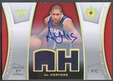 2007/08 Ultimate Collection #AH Al Horford Materials Rookie Jersey Auto