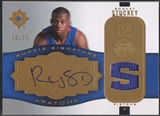 2007/08 Ultimate Collection #RS Rodney Stuckey Rookie Signature Patch Auto #20/25