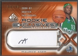 2006/07 SP Game Used #MA Maurice Ager Rookie Exclusive Auto #016/100