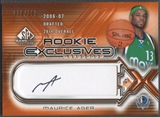 2006/07 SP Game Used #MA Maurice Ager Rookie Exclusive Auto #018/100