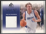 2003/04 SP Game Used #16 Dirk Nowitzki Jersey