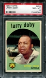 1959 Topps Baseball #455 Larry Doby PSA 8 (NM-MT) *3066