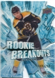 2010/11 Upper Deck Rookie Breakouts #RB3 Zach Hamill /100