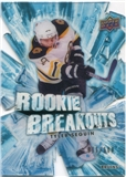 2010/11 Upper Deck Rookie Breakouts #RB4 Tyler Seguin /100
