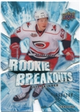 2010/11 Upper Deck Rookie Breakouts #RB8 Jeff Skinner /100