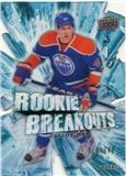 2010/11 Upper Deck Rookie Breakouts #RB13 Taylor Hall /100