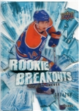 2010/11 Upper Deck Rookie Breakouts #RB15 Jordan Eberle /100